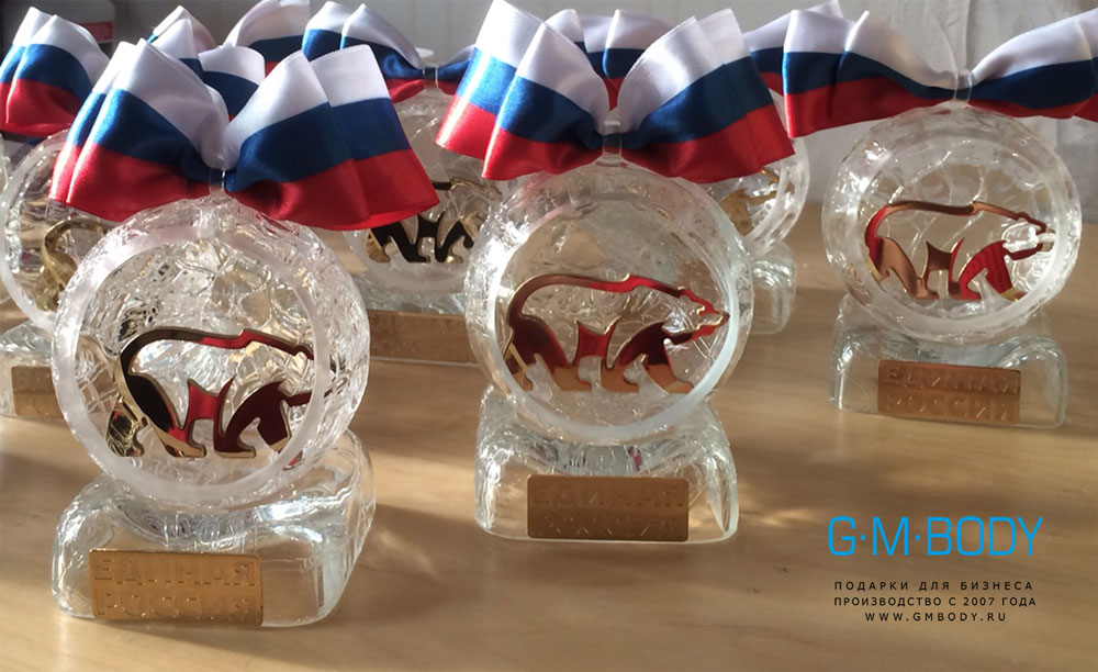 Бизнес сувениры из стекла и корпоративные подарки Награды